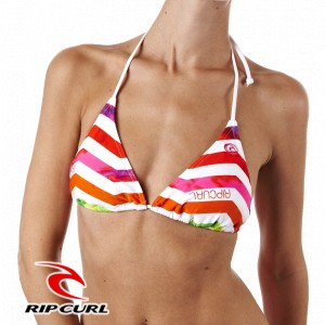Rip Curl Hysteria Stripe Basic Triangle Bikini Top