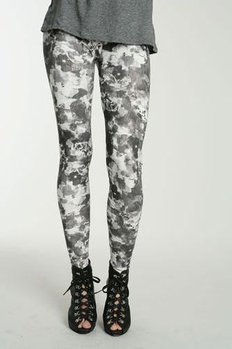 Something Else Grunge Floral Legging