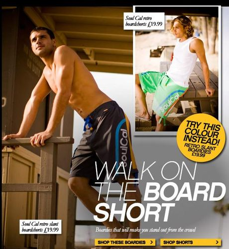 Soul Cal Board Shorts