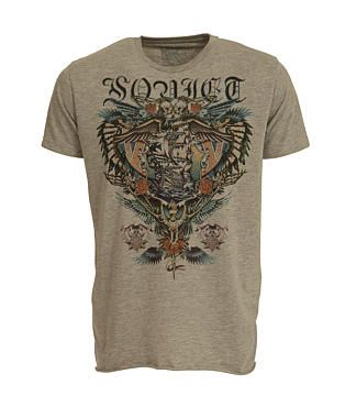 Soviet Black Tattoo T-Shirt