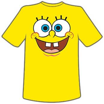 Spongebob Squarepants Mens T-Shirts
