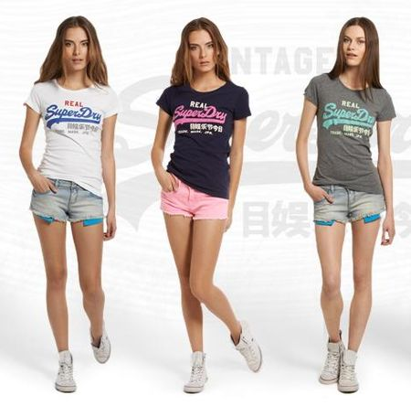 Other Clothing – Superdry Vintage T-Shirts and Shorts