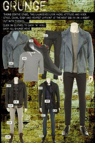 Topman Grunge Clothing