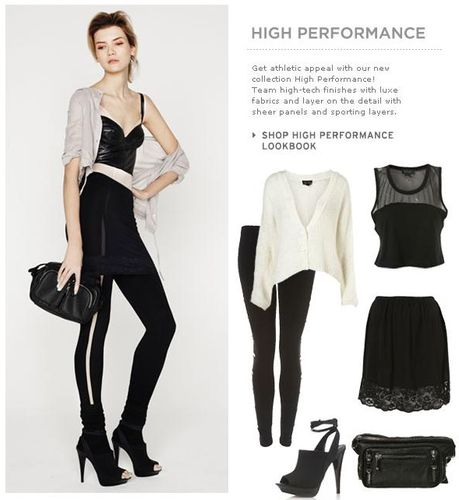 Topshop High Performance Collection