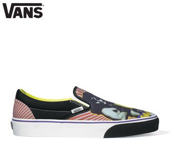 Vans Classic Slip-On KISS Trainers