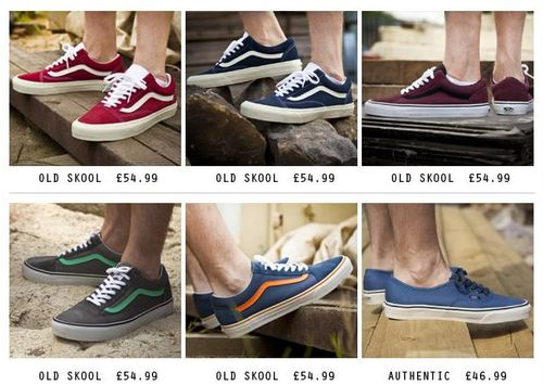 Vans Old Skool Collection