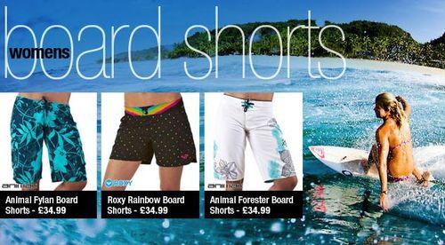 Womens Boardshorts