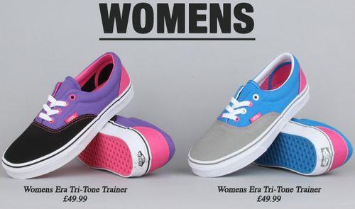 Womens Vans Shoes