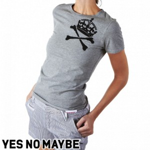 Yes No Maybe Crownbones T-Shirt
