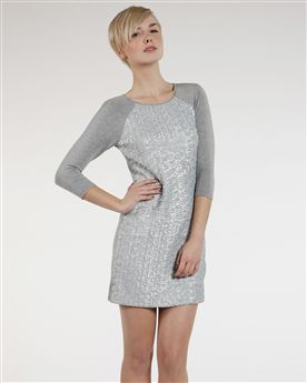 Ted Baker Wiyo Sequin Panel Dress