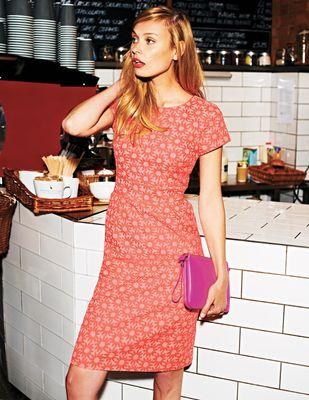 Boden Daisy Jacquard Dress