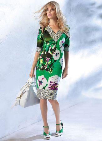 Elegance Green Dress