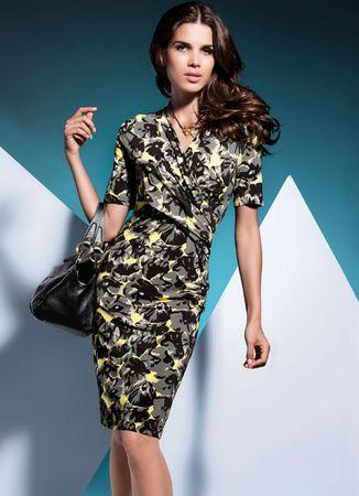 Elegance Taupe Dress