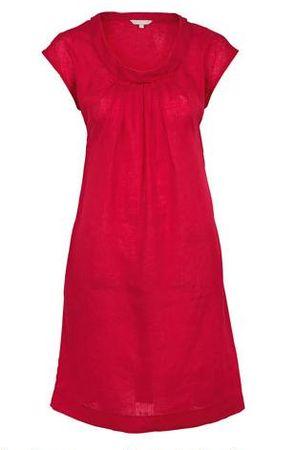 Kew Linen Cowl Neck Dress