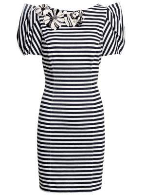 Monsoon Fusion Juniper Striped Dress