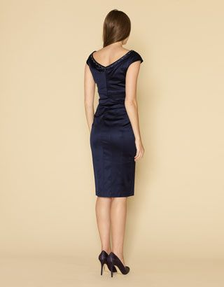 Monsoon Precilla Cocktail Dress Back