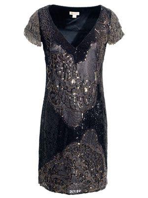 Monsoon Roxbury Sequin Dress