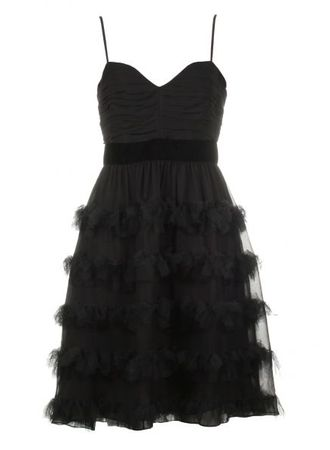 Project D by Dannii Minogue Jingle Black Tiered Dress