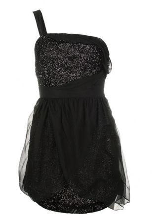 Project D by Dannii Minogue Mistletoe Black Sequin Dress