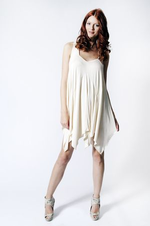 Rare Drape Panel Jersey Dress