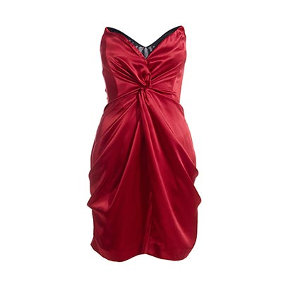 Reiss Courtney Corset Bustier Dress