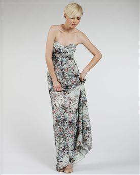 Ted Baker Elta Strapless Maxi Dress