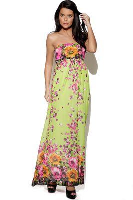 The Vestry Floral Print Maxi Dress