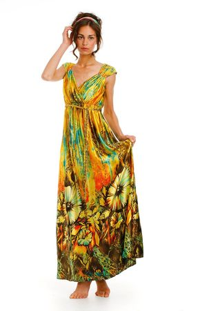 Traffic People Sahara Sky Maxi Dress