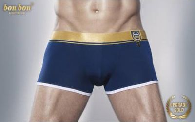 Bon Bon Upgrade Gold Collection Blue Trunks