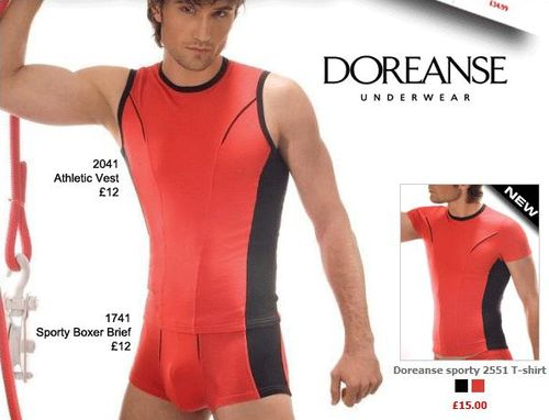 Doreanse Sports Underwear