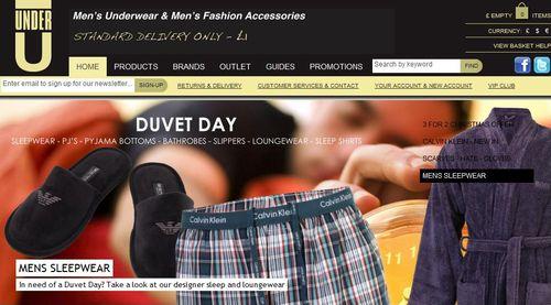 Under U Mens Designer Underwear