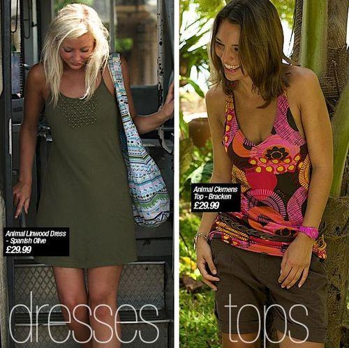 Animal Womens Summer Clothing