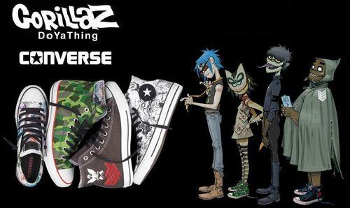 Converse Gorillaz Collection