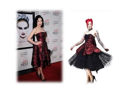 Get The Look – Dita Von Teese