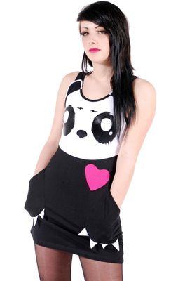 Killer Panda Dresses