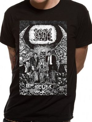 Napalm Death Official T-Shirts