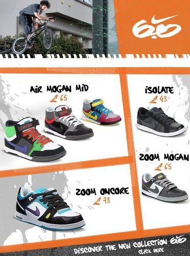 Nike 6.0 Mens Skate Shoes